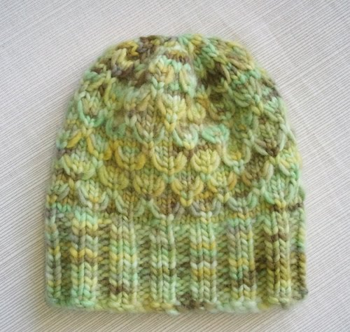 Luluknits Mock Honeycomb Baby Hat