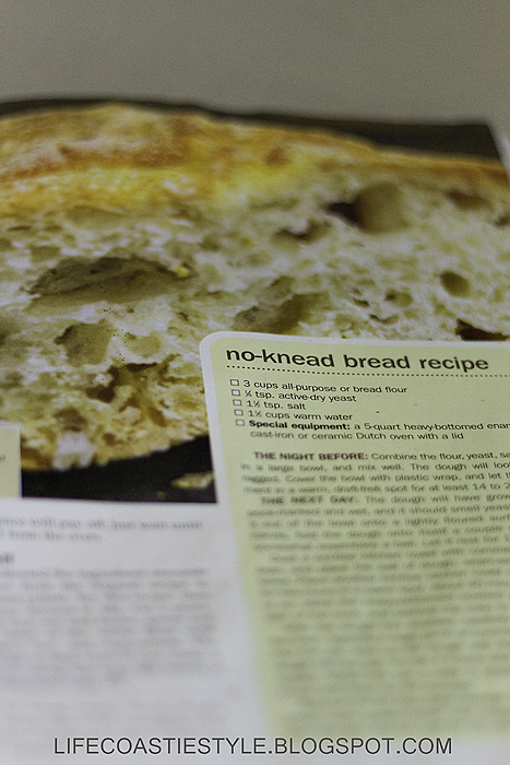Life Coastie Style No Knead Bread Recipe Baltimore