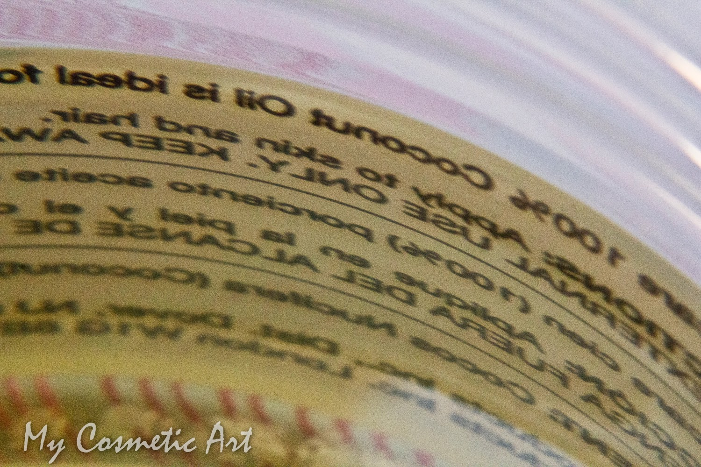 Aceite puro de Coco iHerb