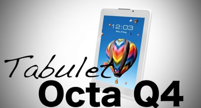 Tabulet Octa Q4, Tablet Lokal Quad-Core Murah, Mirip iPad Mini