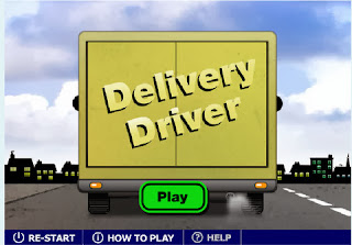 Delivery Driver BBC English Game