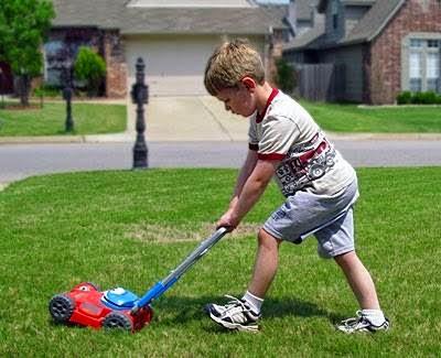 Câu chuyện về cậu bé cắt cỏ