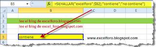 Condiciones o Pruebas lógicas en funciones de Excel.