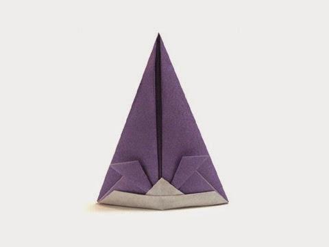 Hướng dẫn cách gấp mũ, nón dự tiệc bằng giấy đơn giản - Xếp hình Origami với Video clip - How to make a Hat