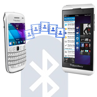 Transfer Kontak Melalui Bluetooth