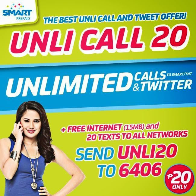 Smart Unli Call 20 - Unlimited Call and Twitter