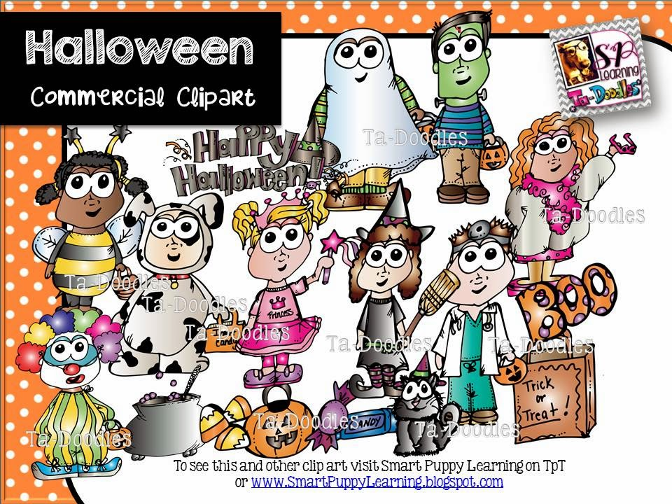http://www.teacherspayteachers.com/Product/Halloween-Kids-Clip-Art-1398473