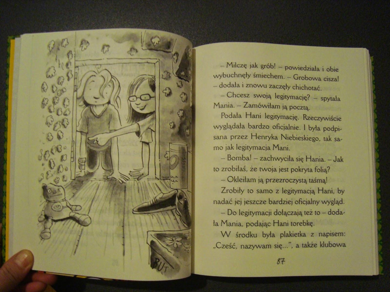 Wielka księga humoru. Hania Humorek. Egmont, recenzja