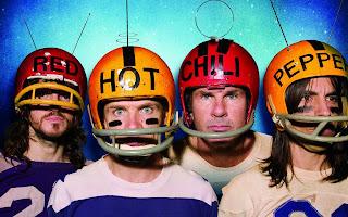Rhcp Members wearing Nfl Uniform and Helmet HD Wallpaper