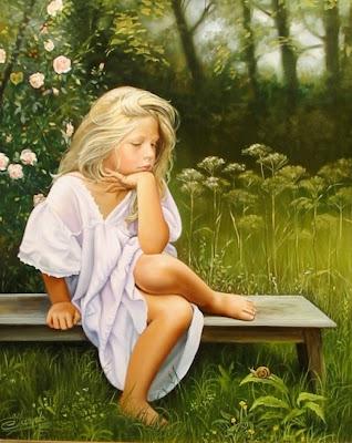 fotorrealismo-pinturas-al-oleo-de-niñas