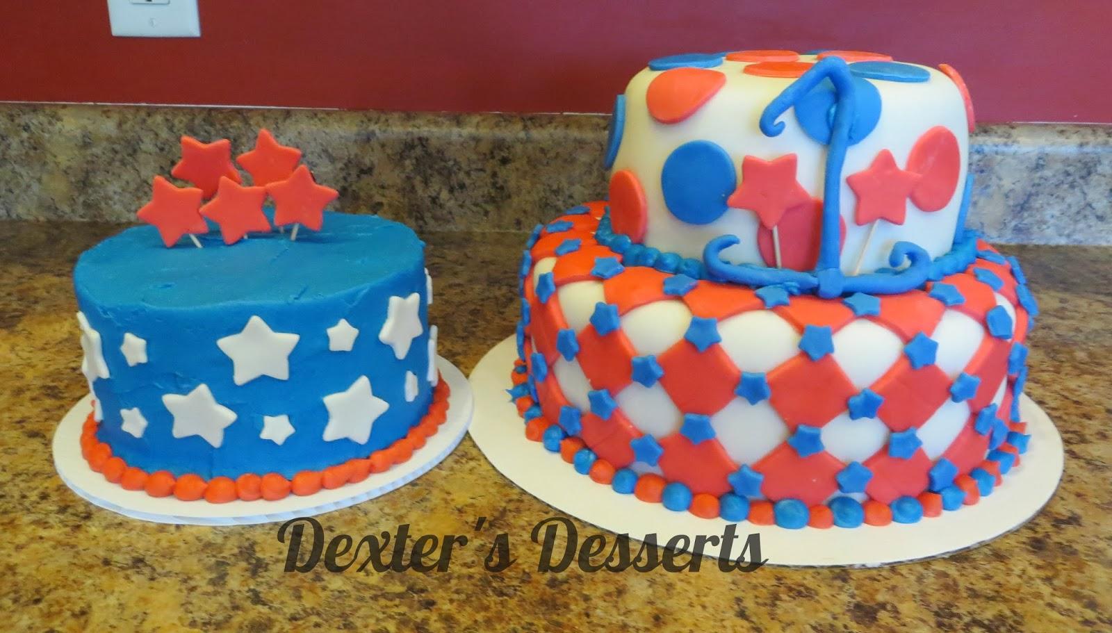 Dexters Desserts Fourth Of July Birthday