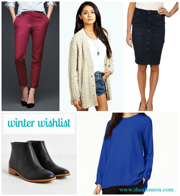 My winter wardrobe wishlist | www.shealennon.com