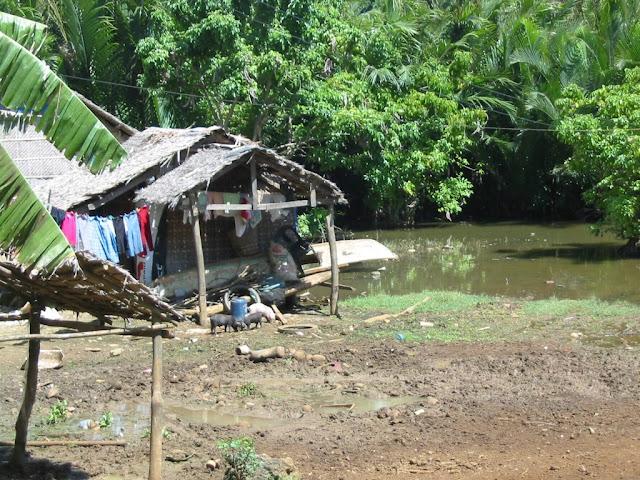 Dorfleben auf Boracay, Philippinen 2005