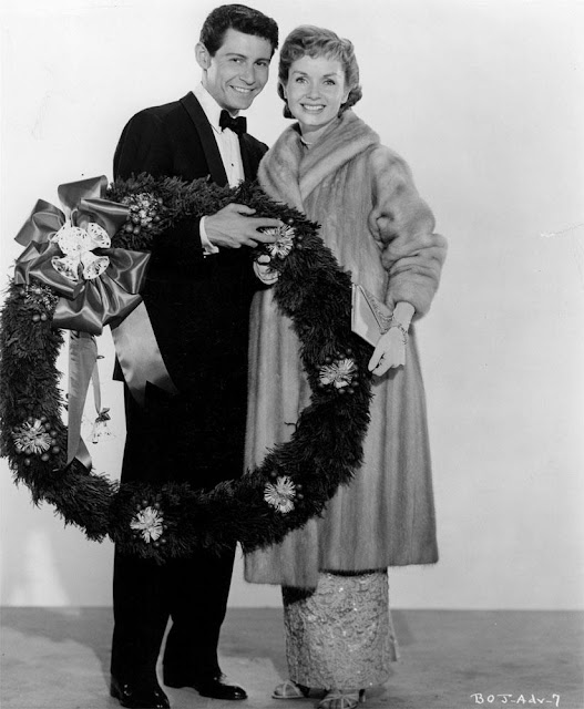 Eddie Fisher and Debbie Reynolds Christmas