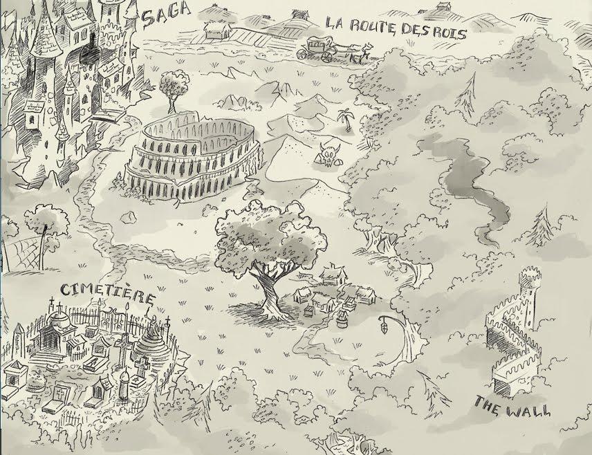 Carte des terres de Limbour
