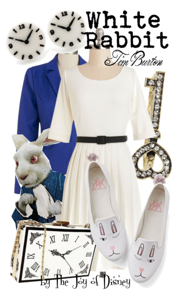 Alice in Wonderland White Rabbit, Disney Fashion Blog