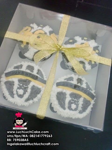 cupcake juventus ulang tahun
