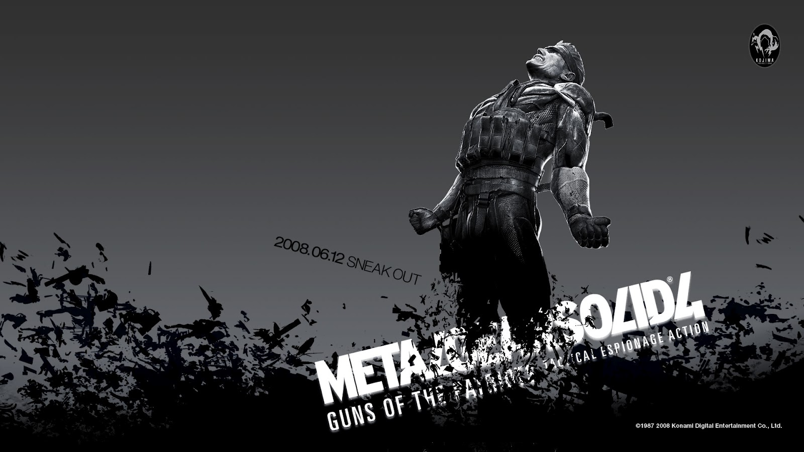 metal gear solid 4 ps3 wallpaper Metal Gear Solid 4: Guns of the Patriots Wallpapers in HD