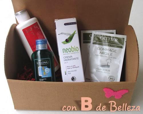Caja cosmética natural bio