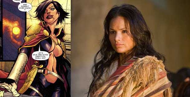 Katrina Law  sera Nyssa al Ghul en Arrow