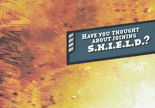 Inside of Avengers 2012 birthday card from Hallmark