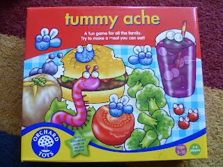 Tummy Ache board game Orchard Toys