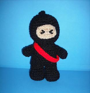 AMIGURUMI NINJA PATTERN FREE Knitting PATTERNS