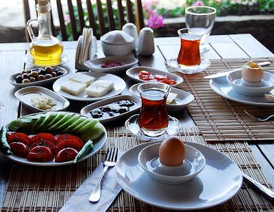 menu sarapan sehat ala turki