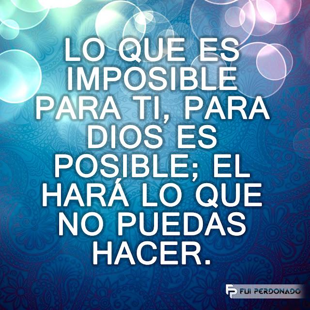Para DIOS es Posible