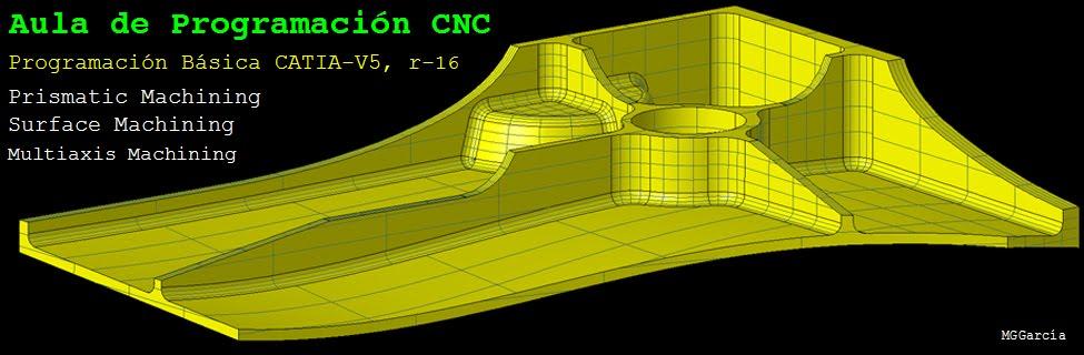 Aula de programación CNC