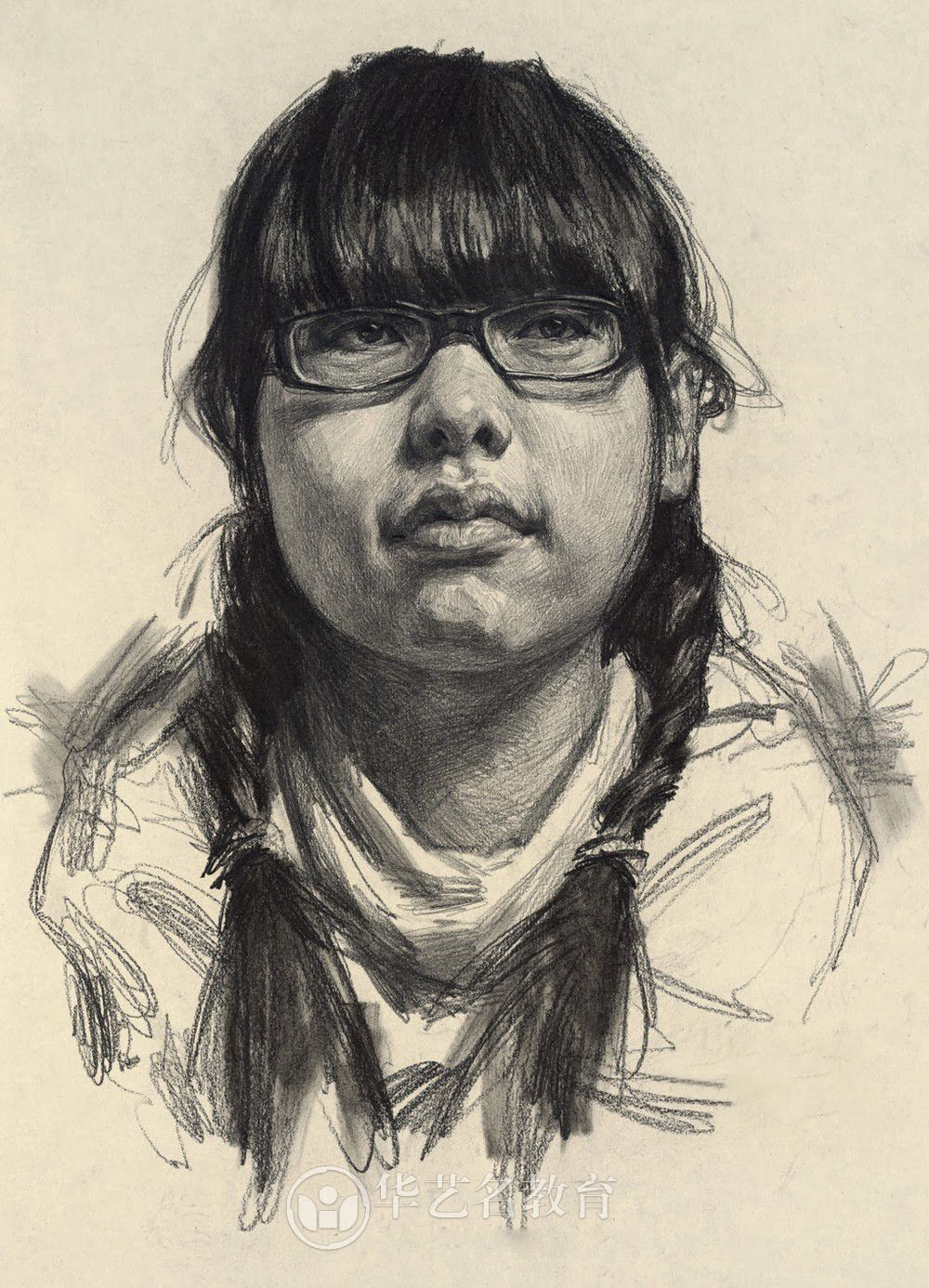Scribble Drawing Portraits : How to draw library portrait drawing with pencil