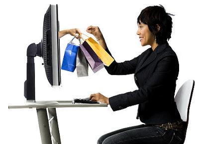 De compras en Internet