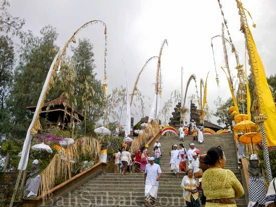 Pura Tegeh Kahuripan (Pura Puncak Panulisan) attraction in Bangli