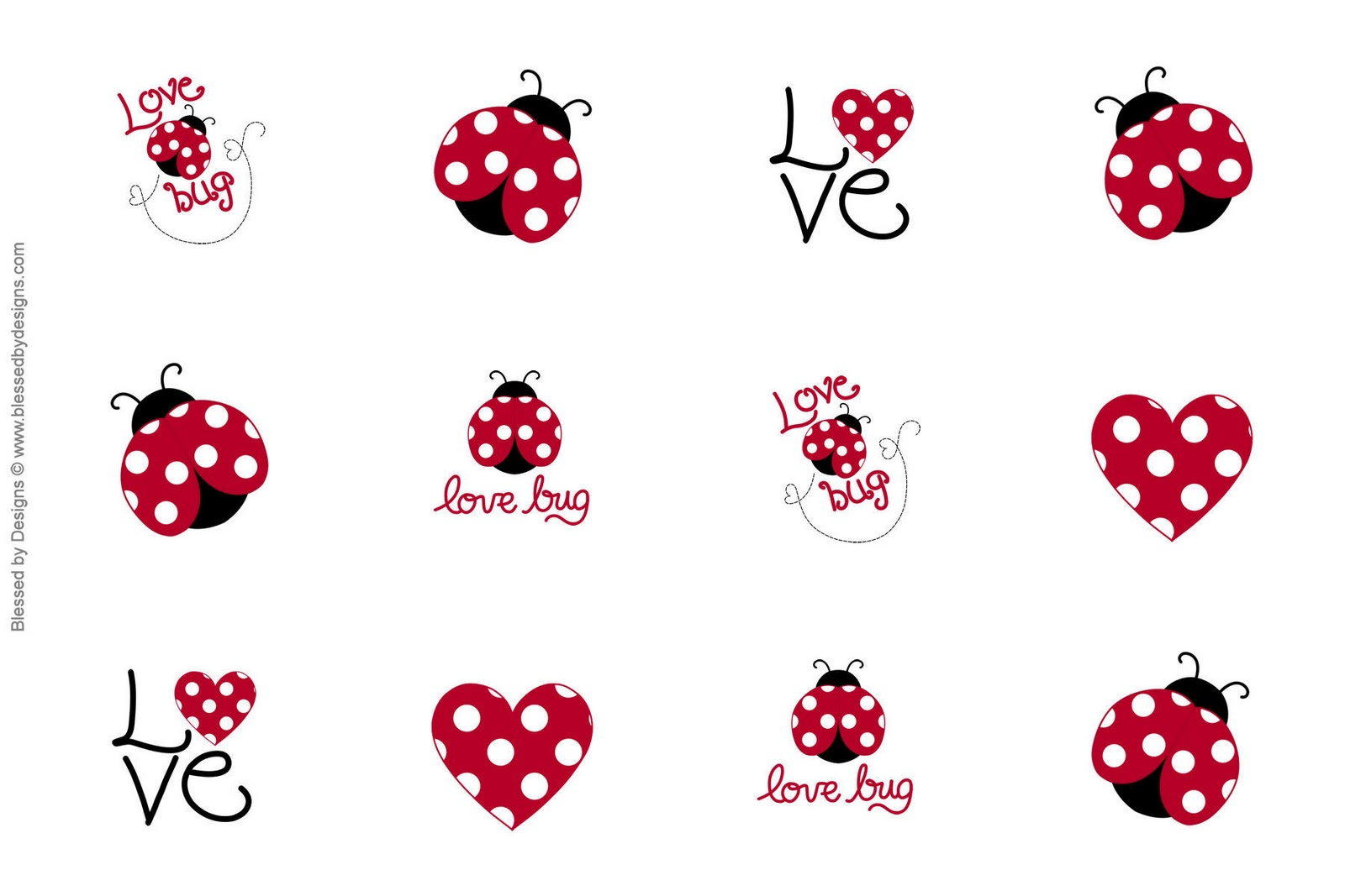 Zsbows Free Love Bug Bottle Cap Images