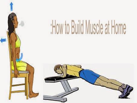 How to Build Muscle at Home: