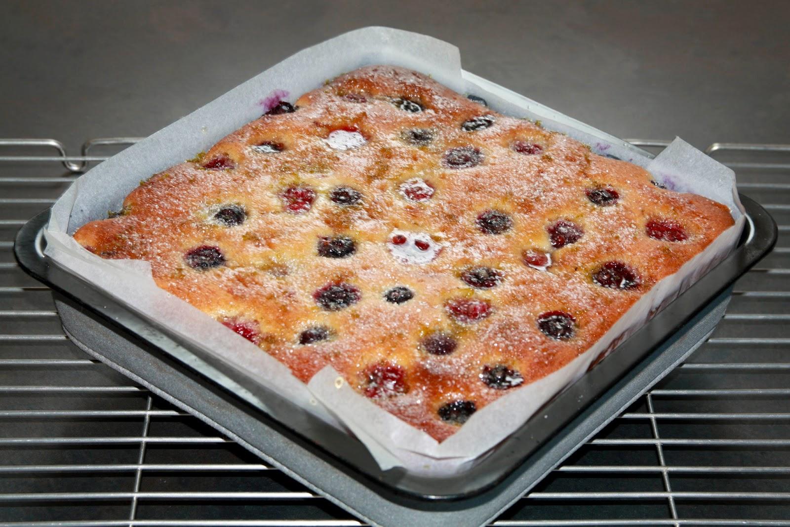 Raspberry lime cake recipe