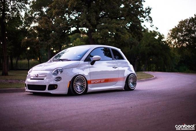 Fiat 500 Sport Rebaixado
