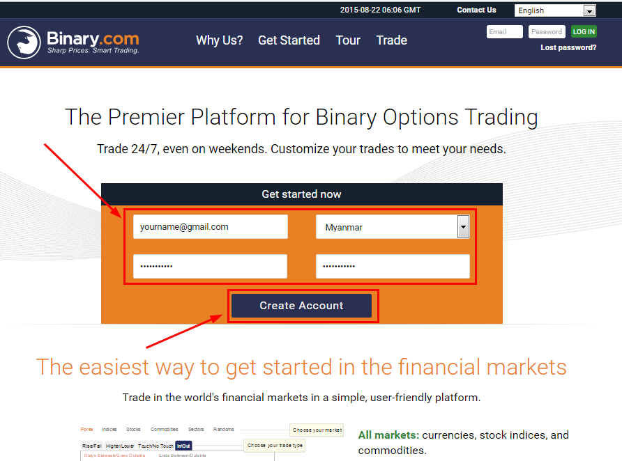 Binary trading virtual account klikbca