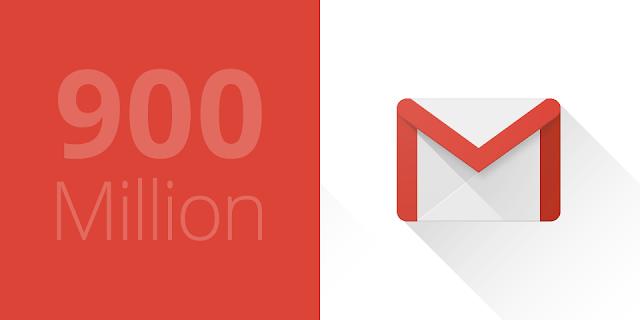 gmail 900 millones de usuarios