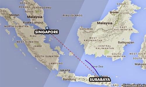Pesawat Air Asia QZ8501  Hilang