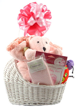 Bassinet Gift Basket