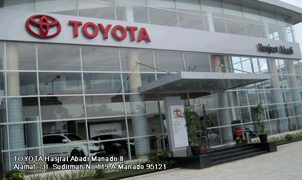 Harga Mobil TOYOTA Hasjrat Abadi MANADO Sudirman