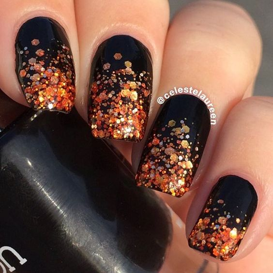 Gorgeous Fall Nail Art Ideas