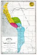 Recopilación: César Vásquez Bazán. Mapa del Tahuantinsuyo (mapa del tahuantinsuyo)
