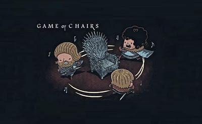 El Juego de las sillas de Juego de Tronos - Juego de Tronos en los siete reinos