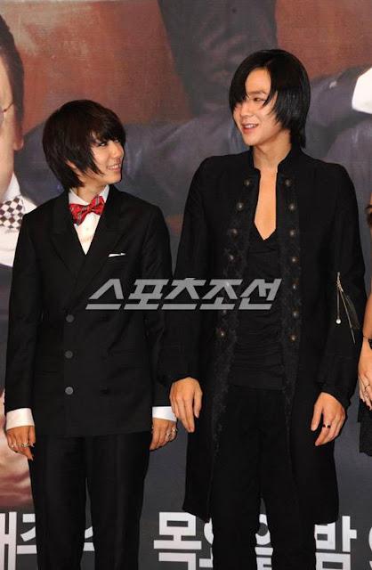 Jang Geun Suk with Park Shin Hye