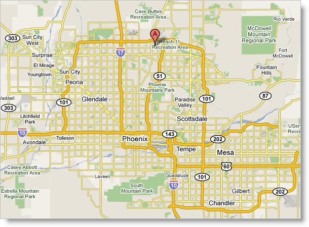 Printable Phoenix Map