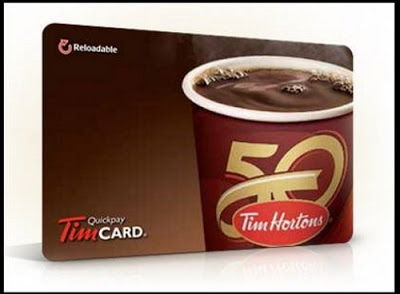 Tim Hortons $25 Gift Card Giveaway Freebie Flash Friday