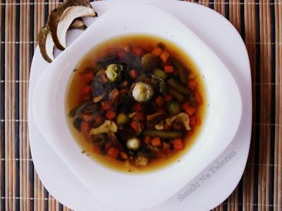 zupa grzybowa, zupa z grzybami jarzynowa
