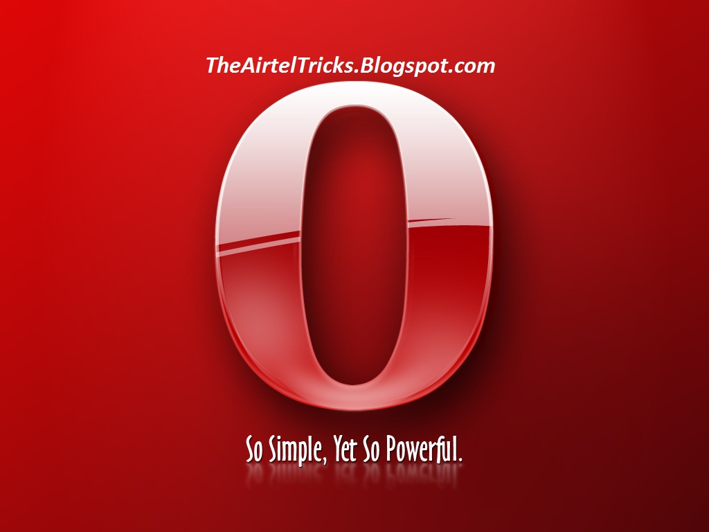 Airtel Tricks And Hacks Airtel Free Gprs Using Opera